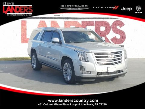 Pre-Owned 2016 Cadillac Escalade ESV Platinum Sport Utility in Little Rock #GR107466 | Steve Landers Chrysler Dodge Jeep Ram
