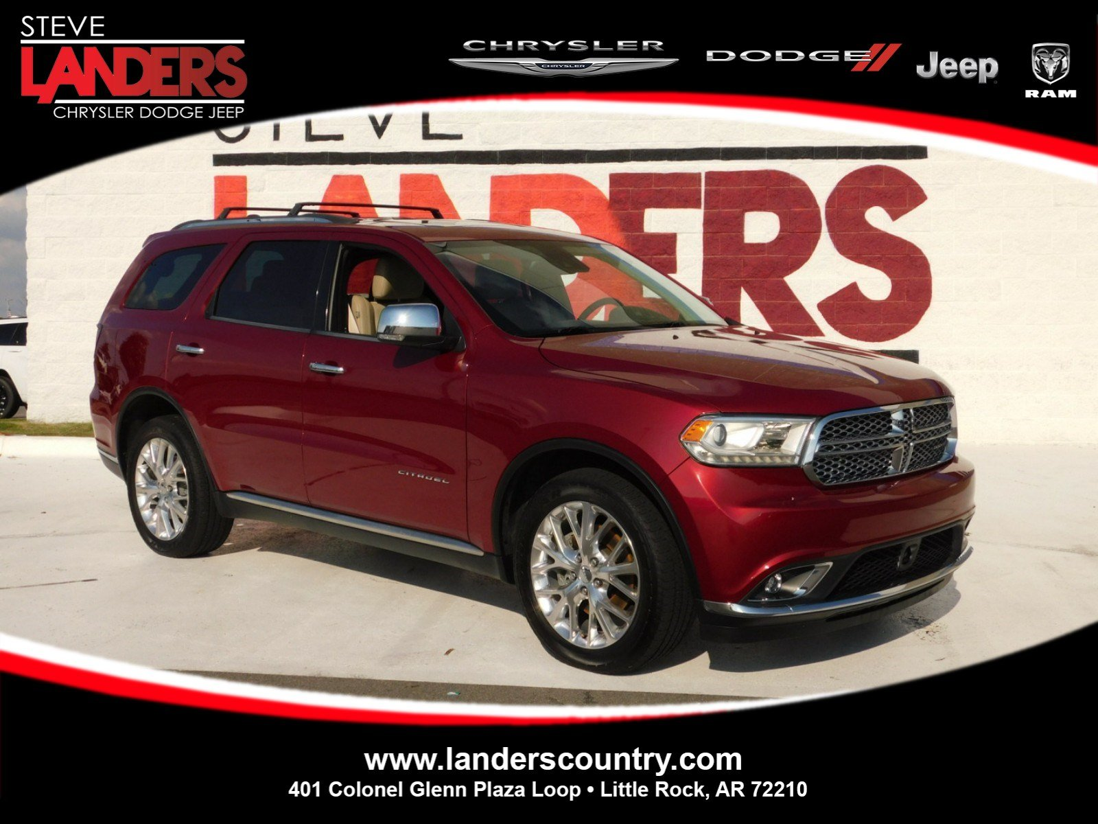 Pre Owned 2014 Dodge Durango Citadel Sport Utility in Little Rock