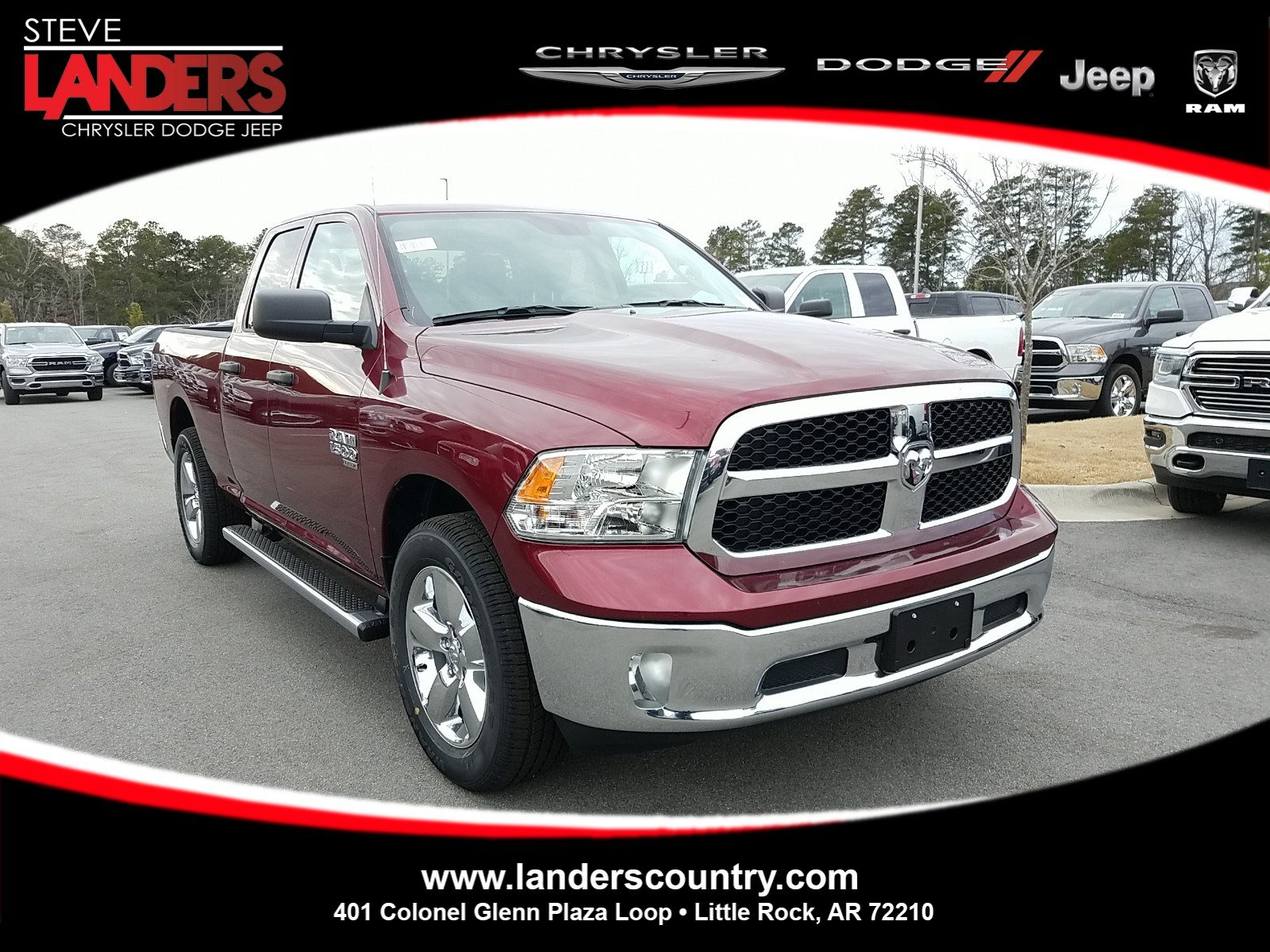 New 2019 Ram 1500 Classic Quad Cab In Little Rock Ks524290 Steve