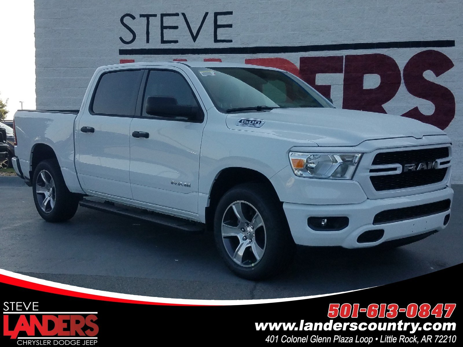 new 2020 ram 1500 tradesman crew cab in little rock
