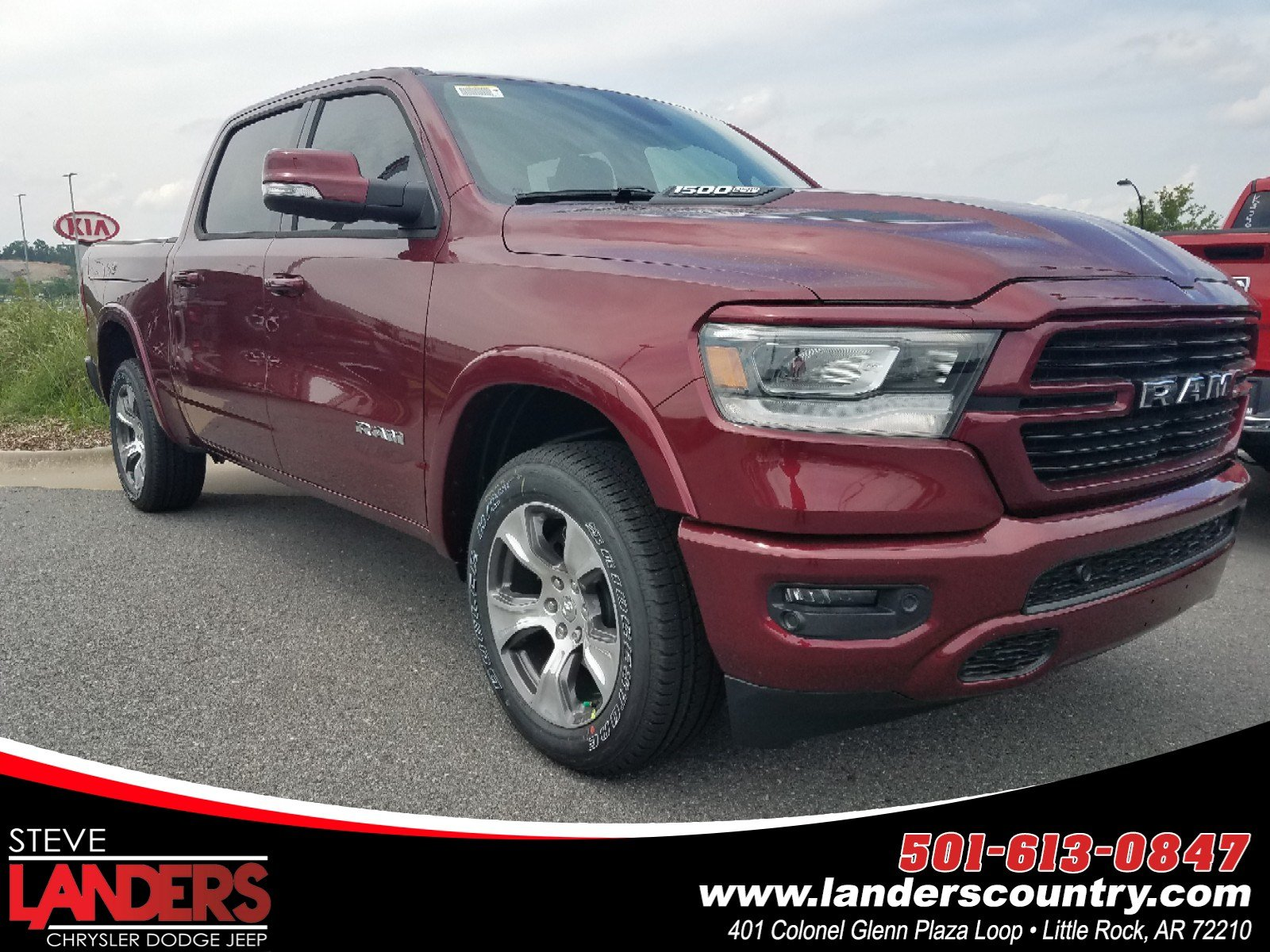 All New Dodge Ram Truck 2019 >> New 2019 Ram 1500 Laramie Crew Cab 4x4 5 7 Box