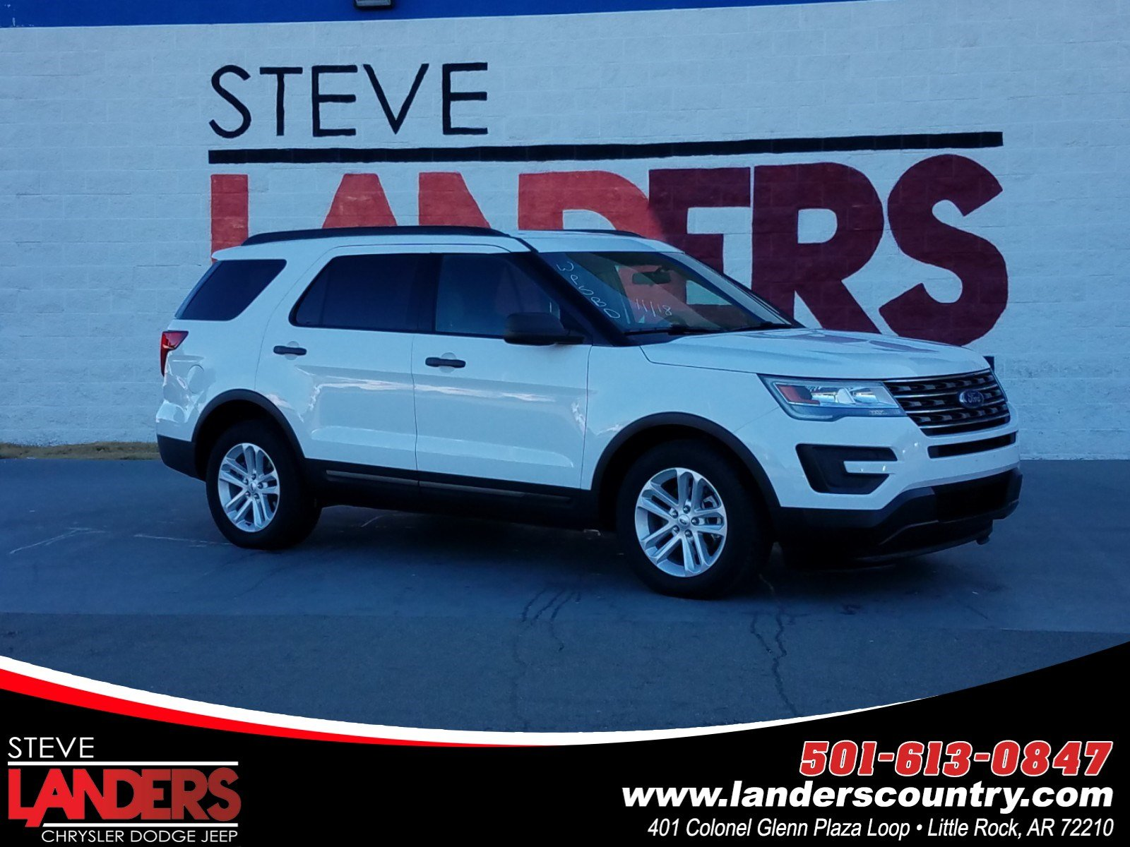 Landers Ford Benton Ar >> Pre Owned 2017 Ford Explorer Base Sport Utility In Little