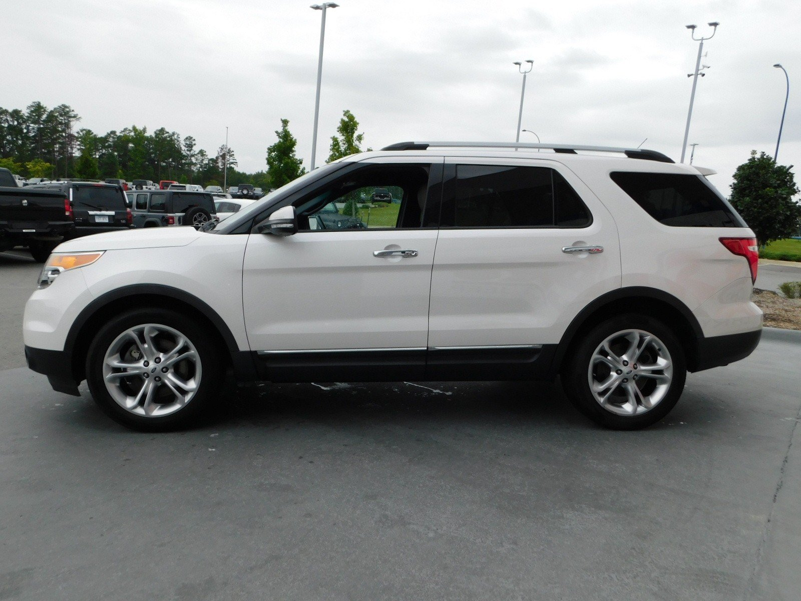 Pre Owned 2013 Ford Explorer Limited Sport Utility In Little Rock Chevy Traverse Trailer Wiring Harness