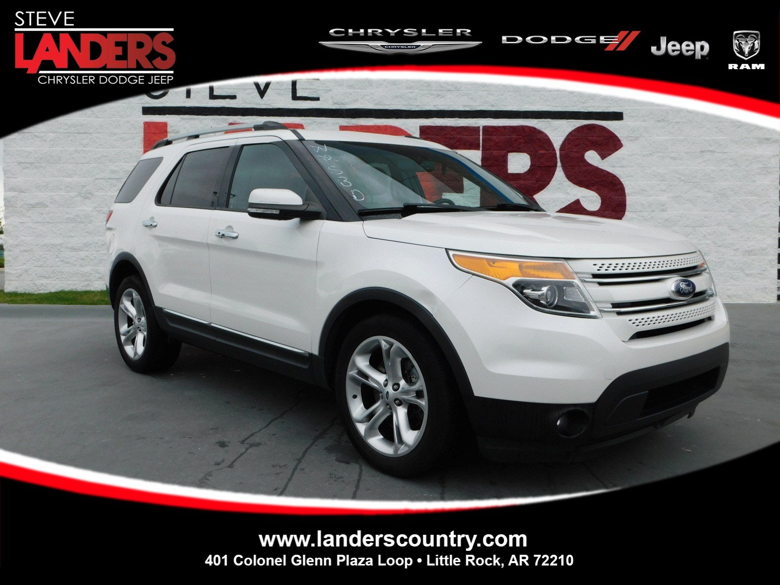 Pre Owned 2013 Ford Explorer Limited
