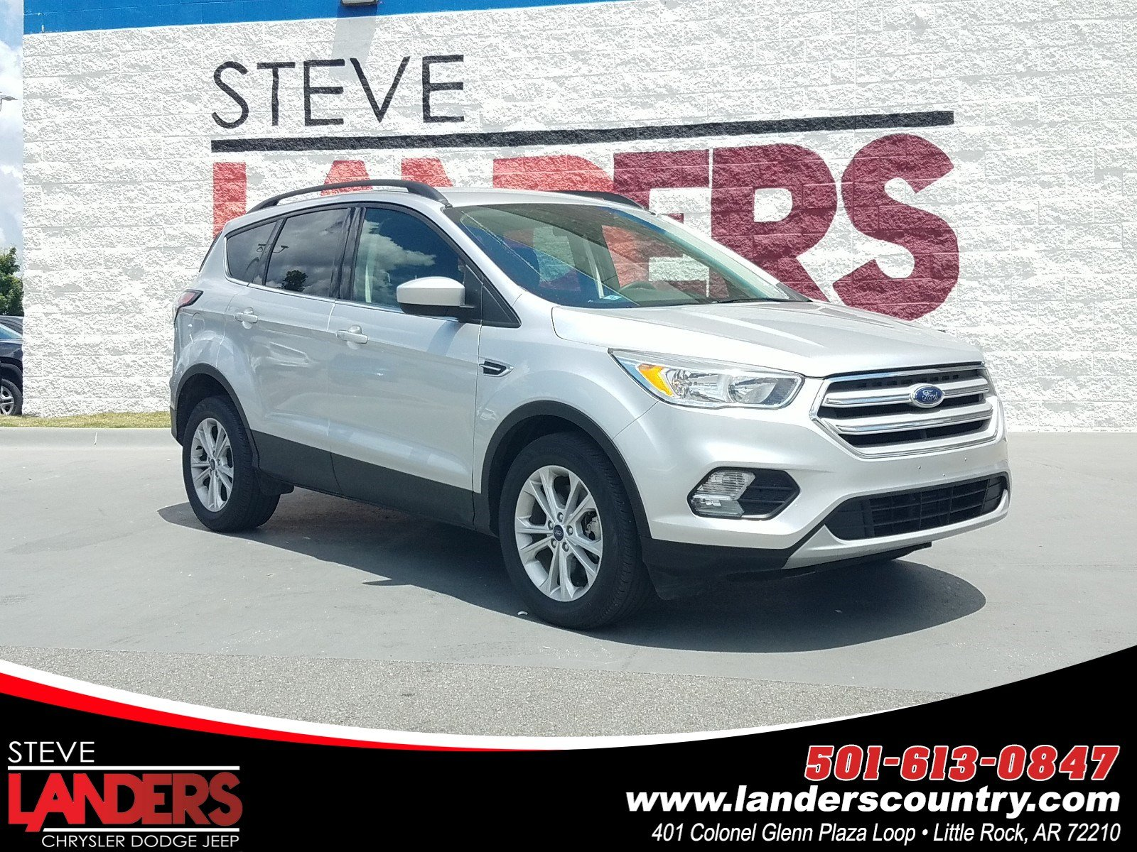 Landers Ford Benton Ar >> Pre Owned 2018 Ford Escape Se 4wd