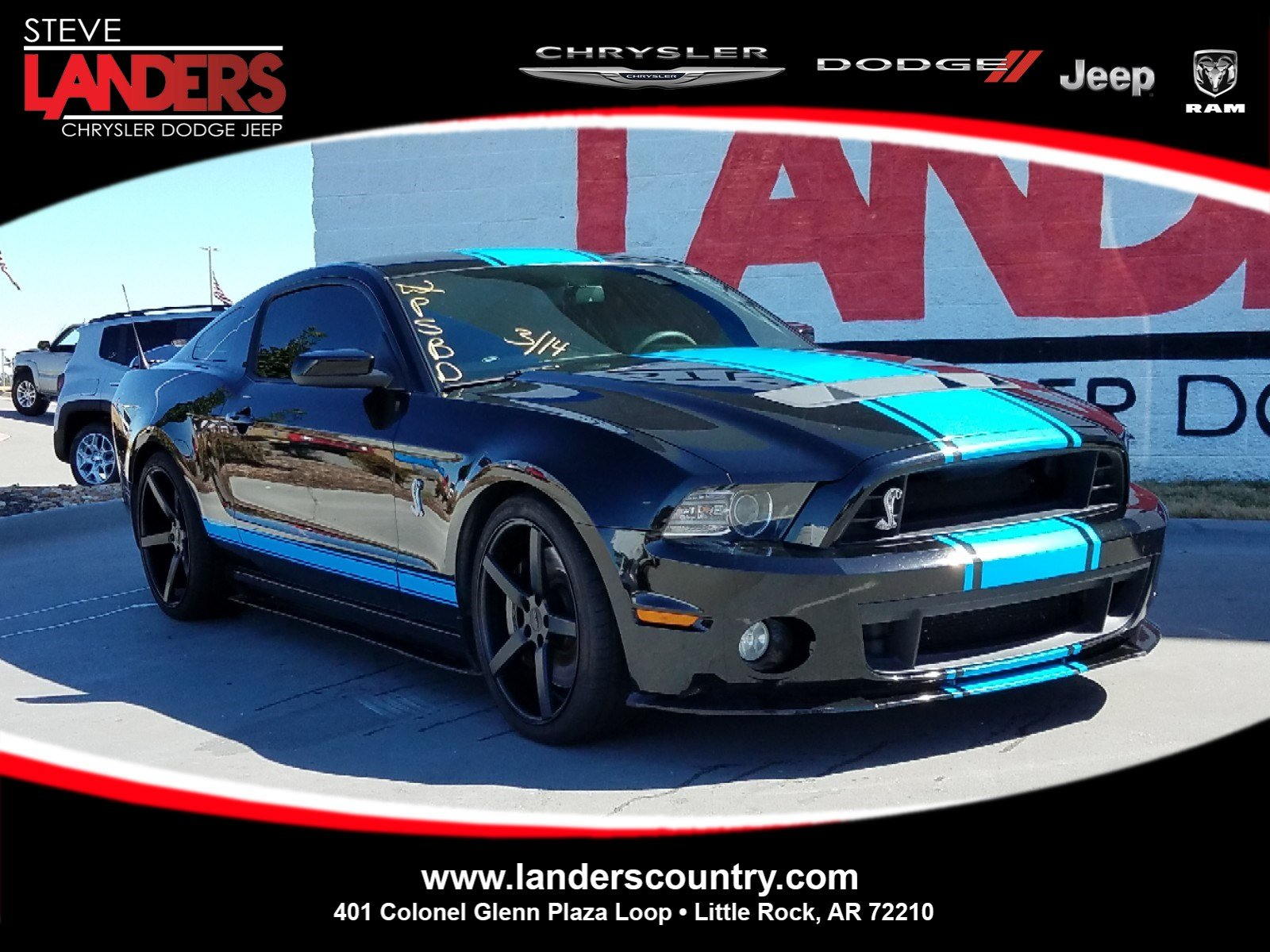 Pre owned 2013 ford mustang shelby gt500