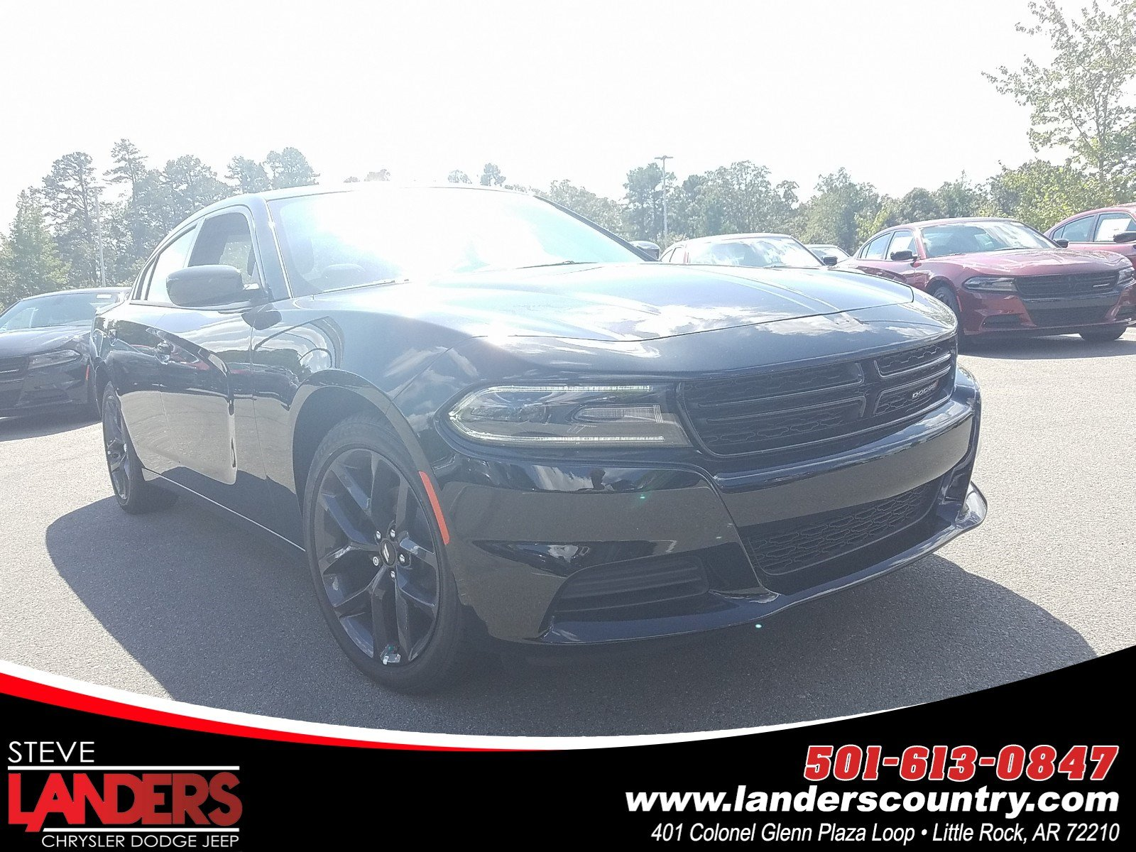 New 2019 Dodge Charger Sxt Sedan In Little Rock Kh504940 Steve