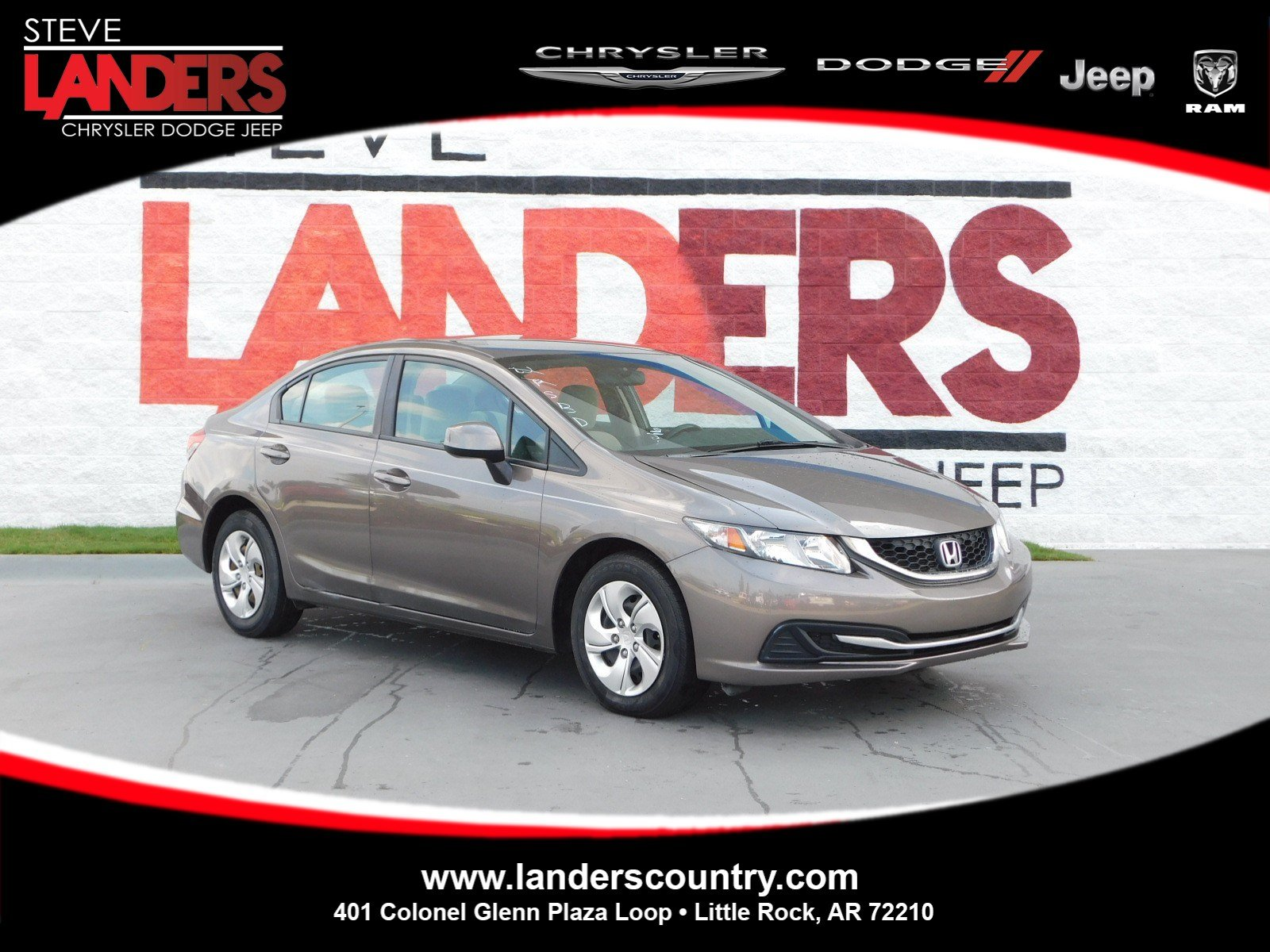 Pre Owned 2013 Honda Civic Sdn LX