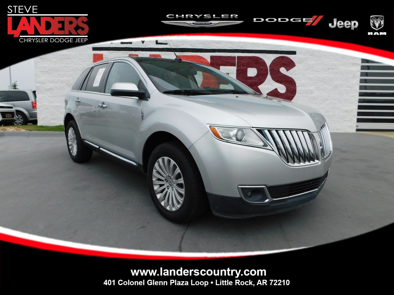 Pre Owned 2013 Lincoln MKX Base