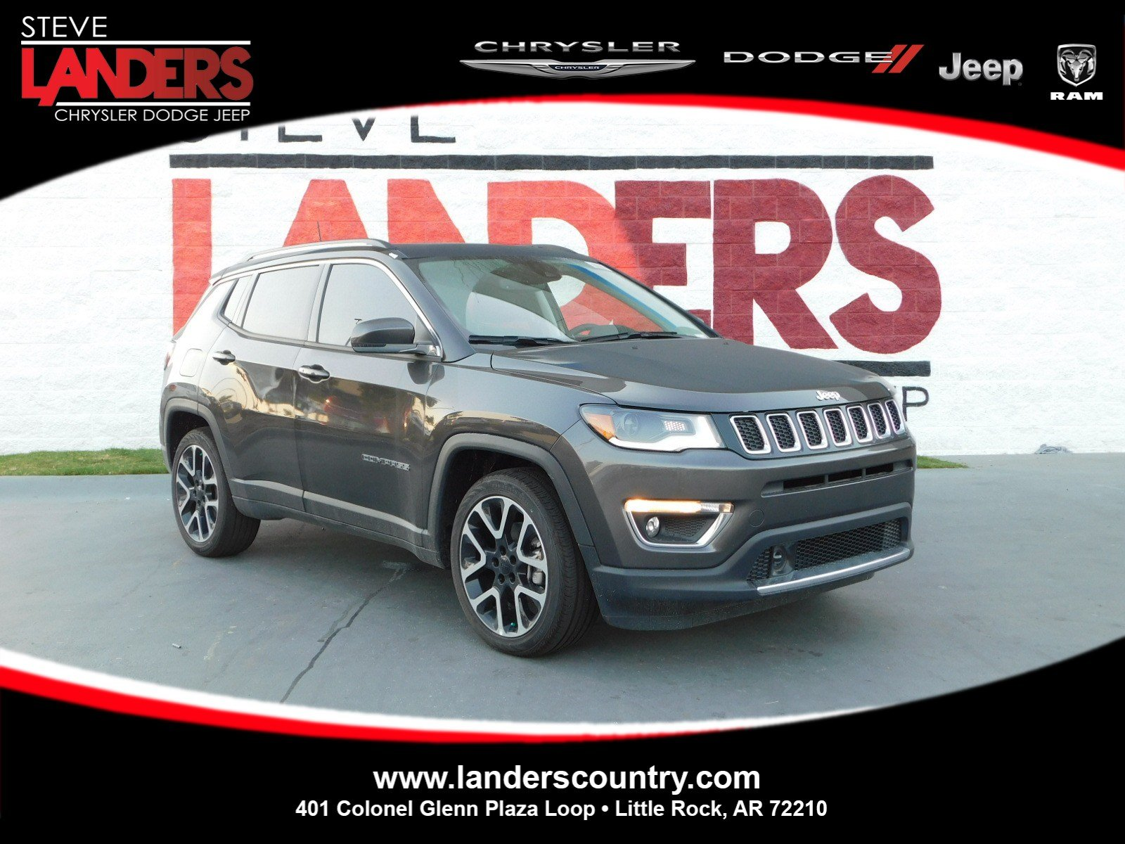 New 2018 JEEP pass Sport Utility in Little Rock JT