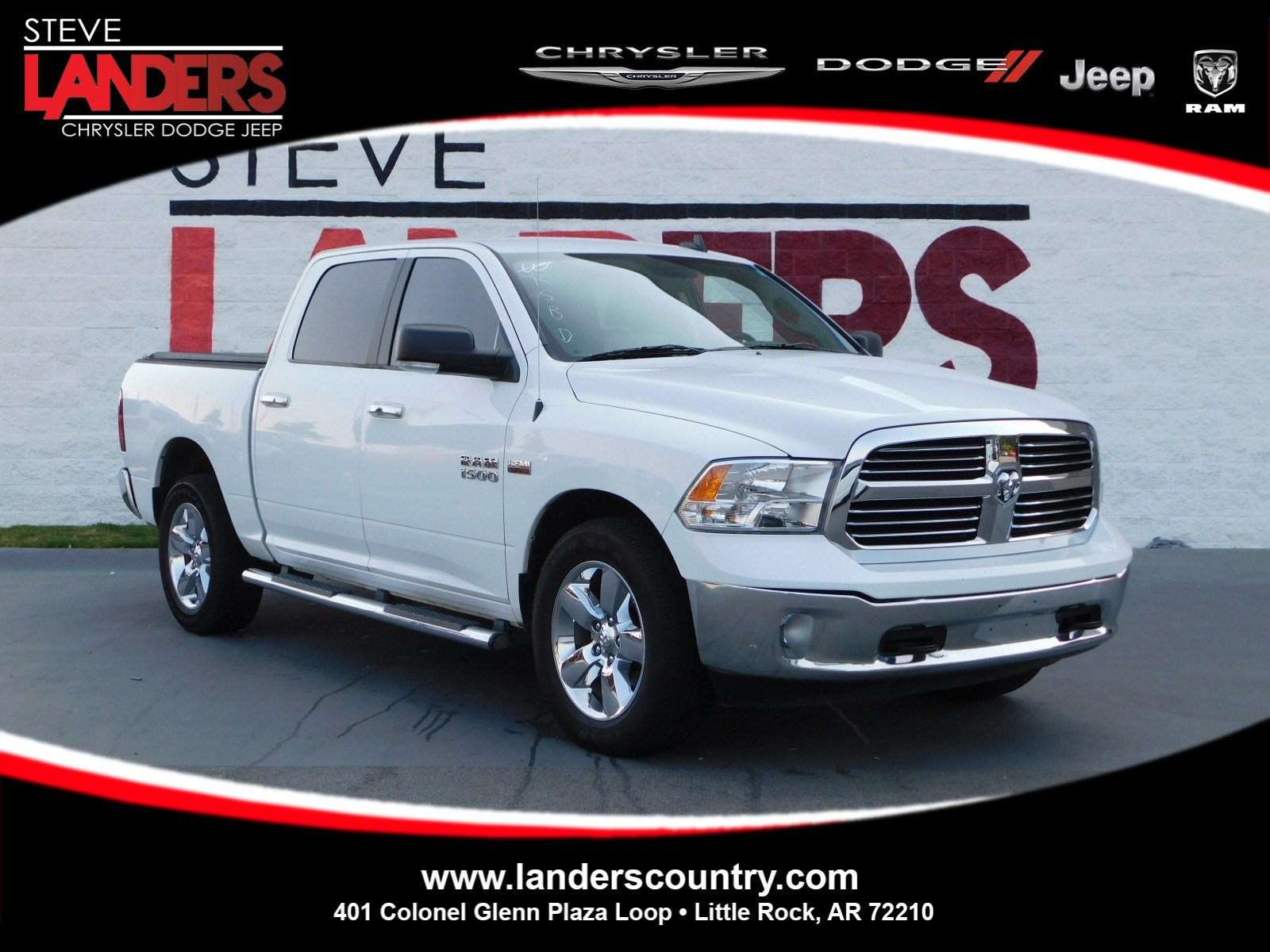 Pre Owned 2015 Ram 1500 Big Horn Crew Cab Pickup In Little Rock 2014 Dodge Tow Hooks