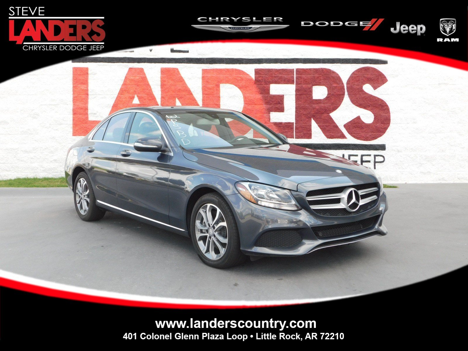 Pre Owned 2015 Mercedes Benz C Class C 300 4dr Car in Little Rock