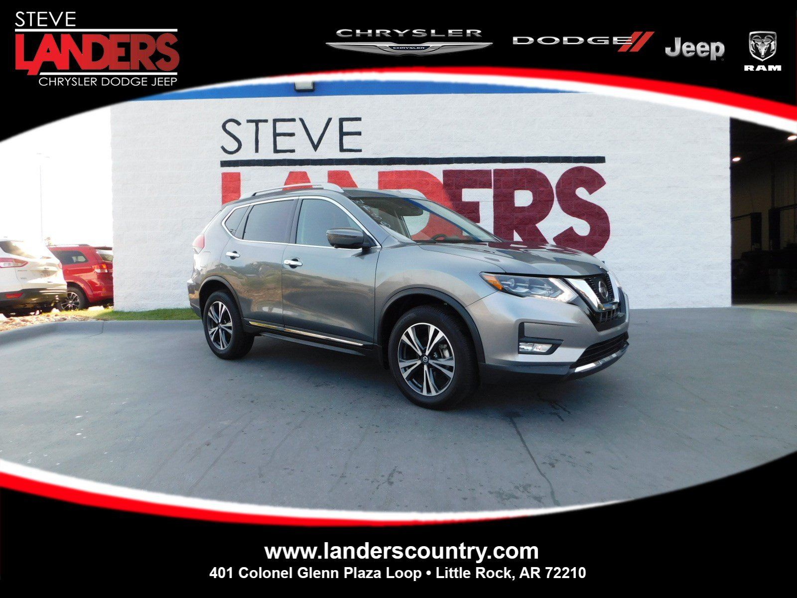 Pre Owned 2017 Nissan Rogue SL