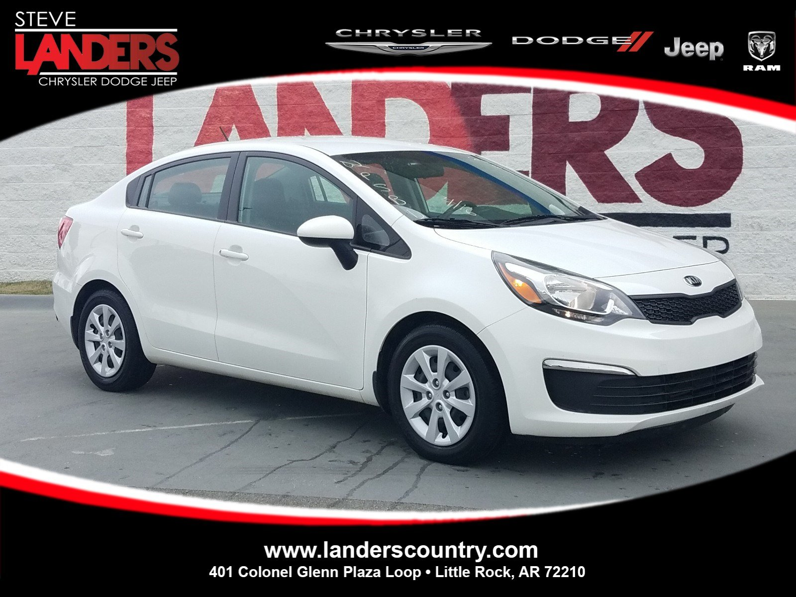 Kia Rio Lx >> Pre Owned 2016 Kia Rio Lx 4dr Car In Little Rock G6596771 Steve