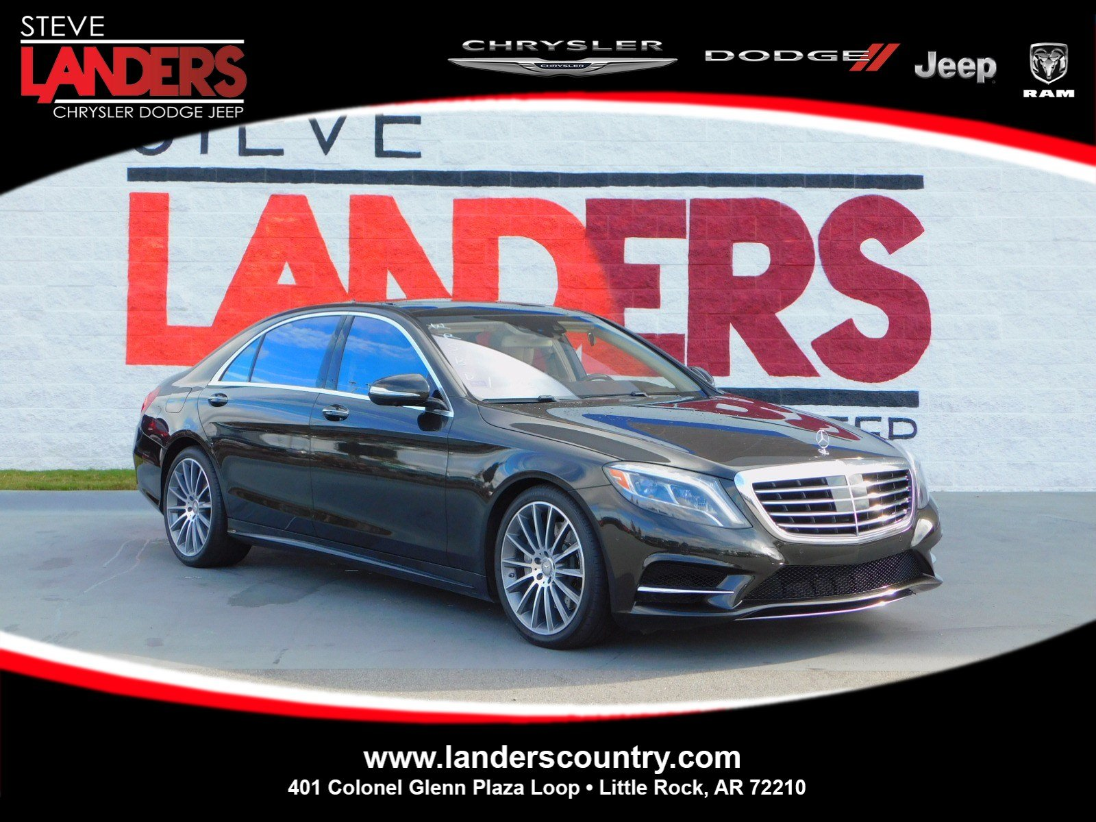 Pre Owned 2015 Mercedes Benz S Class S 550 4dr Car in Little Rock