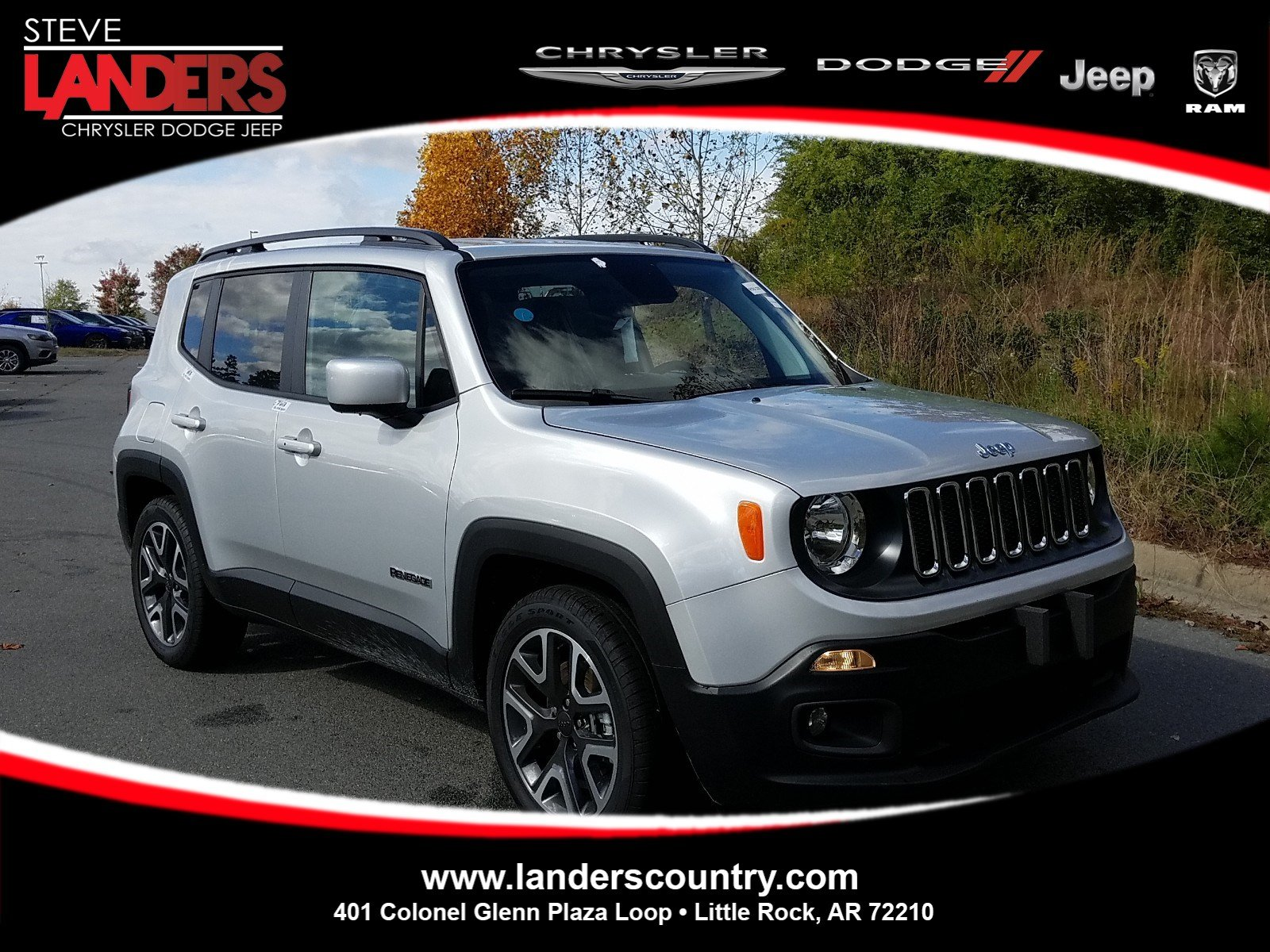 New 2018 JEEP Renegade Sport Utility in Little Rock JPJ