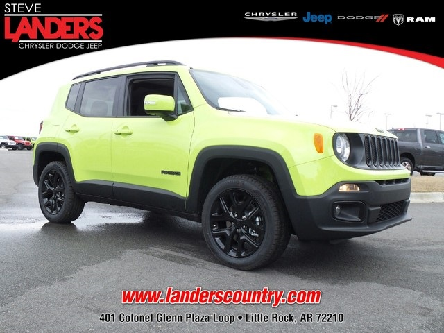 new 2017 jeep renegade sport utility in little rock hpf03427 steve landers chrysler dodge. Black Bedroom Furniture Sets. Home Design Ideas