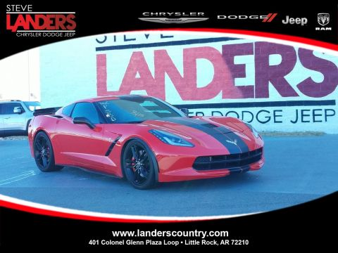 Pre-Owned 2014 Chevrolet Corvette Stingray Z51 3LT